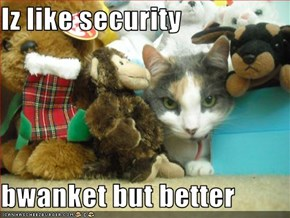 Iz like security   bwanket but better