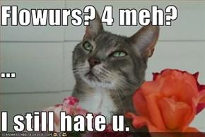 Flowurs? 4 meh? ... I still hate u.