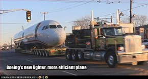 Boeing's new lighter, more efficient plane