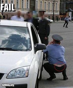 Police Man Fail