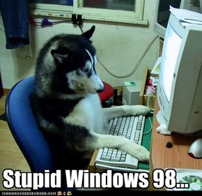 Stupid Windows 98...