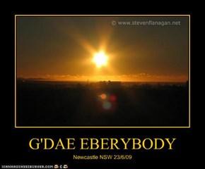 G'DAE EBERYBODY