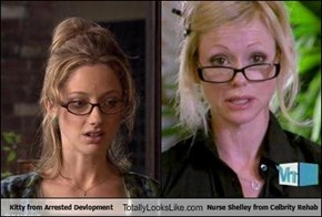 Kitty from Arrested Devlopment Totally Looks Like Nurse Shelley from Celbrity Rehab