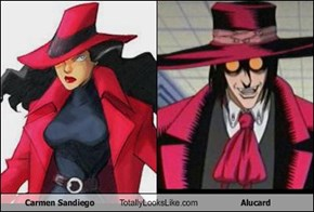 Carmen Sandiego Totally Looks Like Alucard