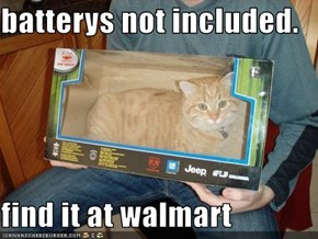 batterys not included.  find it at walmart