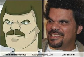 William Murderface Totally Looks Like Luis Guzman