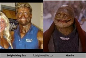 Bodybuilding Guy Totally Looks Like Gumba