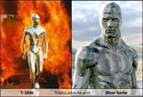 T-1000 Totally Looks Like Silver Surfer