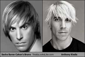 Sacha Baron Cohen's Bruno Totally Looks Like Anthony Kiedis