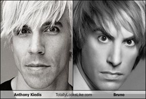 Anthony Kiedis Totally Looks Like Bruno