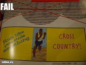 Cross Country Fail