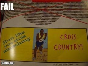 Cross Country Fail