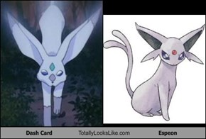 Dash Card Totally Looks Like Espeon