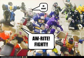 AW-RITE! FIGHT!!
