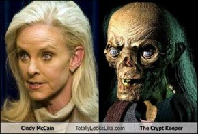 Cindy McCain Totally Looks Like The Crypt Keeper