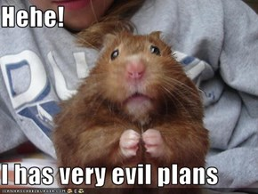 Hehe!  I has very evil plans