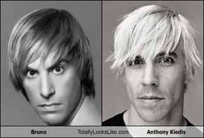 Bruno Totally Looks Like Anthony Kiedis