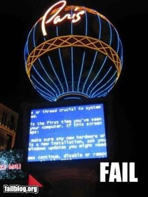 Las Vegas FAIL