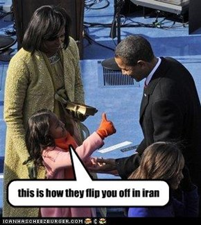 this is how they flip you off in iran