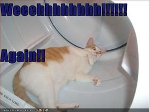 Weeehhhhhhhh!!!!!! Again!!