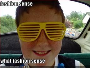 fashion sense  what fashion sense