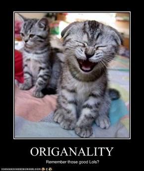 ORIGANALITY