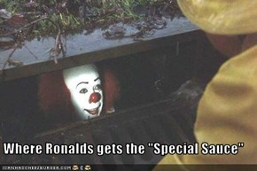 "Where Ronalds gets the ""Special Sauce"""