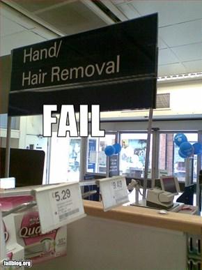 Skin care fail