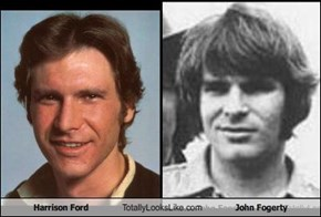 Harrison Ford Totally Looks Like John Fogerty