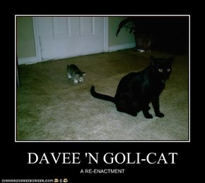 DAVEE 'N GOLI-CAT