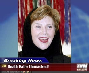 Breaking News - Death Eater Unmasked!