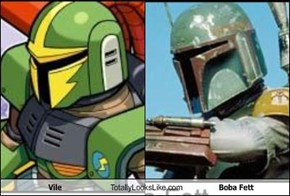 Vile Totally Looks Like Boba Fett