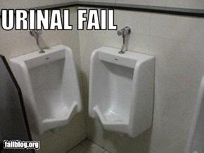 urinal fail