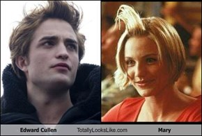 Edward Cullen Totally Looks Like Mary