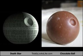 Death Star Totally Looks Like Chocolate Ball