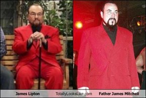 James Lipton Totally Looks Like Father James Mitchell