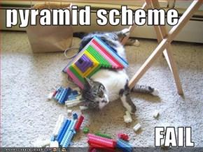 pyramid scheme  FAIL