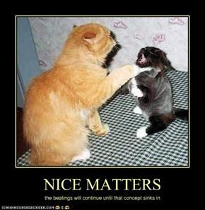 NICE MATTERS