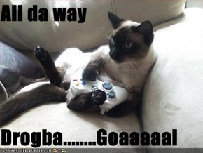 All da way  Drogba........Goaaaaal