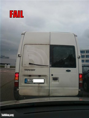 rear window wiper fail