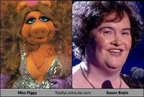 Miss Piggy Totally Looks Like Susan Boyle