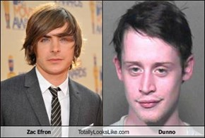 Zac Efron Totally Looks Like Dunno