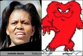 michelle obama Totally Looks Like gossamer