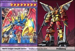 VWXYZ Dragon Catapult Cannon Totally Looks Like Predaking
