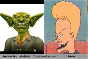 World of Warcraft Goblin Totally Looks Like Beavis