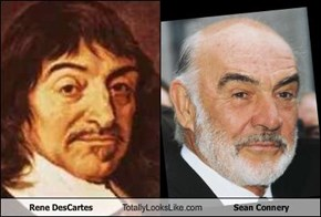 Rene DesCartes Totally Looks Like Sean Connery