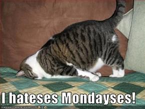 I hateses Mondayses!