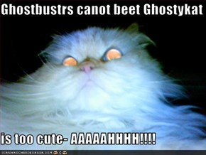 Ghostbustrs canot beet Ghostykat  is too cute- AAAAAHHHH!!!!