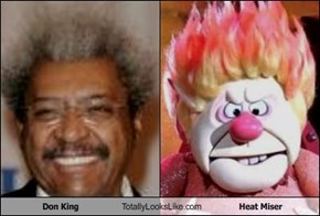 Don King Totally Looks Like Heat Miser
