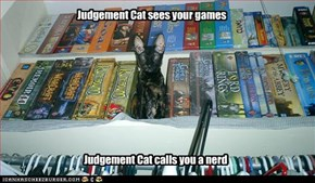 Judgement Cat sees your games